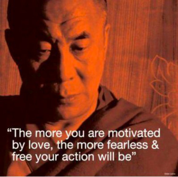 Dalai Lama on Love and Freedom