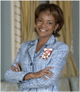 Michaëlle Jean. Journalist, Governor-General of Canada, International Stateswoman. Arrived in Canada as a refugee from Haiti, settling in Quebec.