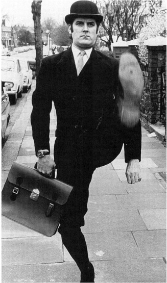 John Cleese, aka Minister of Silly Walks