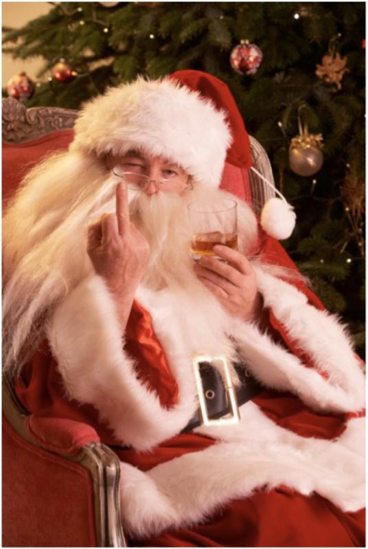 Fuck It Santa Claus