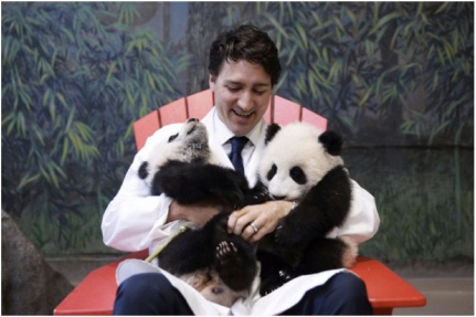 Trudeau and Pandas