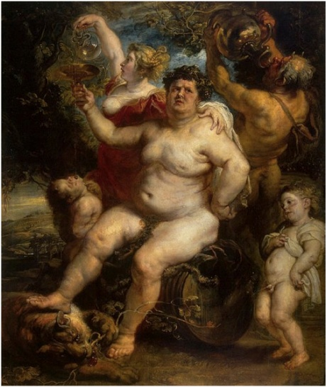 Bacchus - Peter Paul Reubens